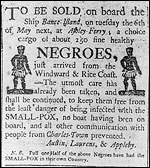 slavery sign