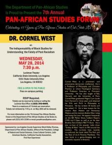 Cornel West Flyer