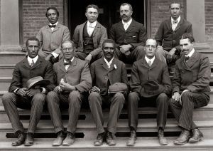 George Washington Carver with Staff of Tuskegee 1902