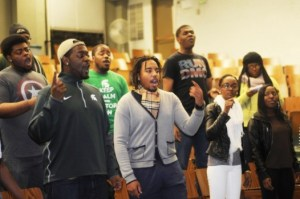 Students-Gospel-Choir